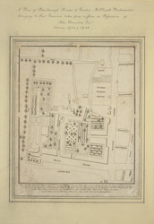 Plan of Peterborough house,